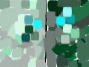 Bleu cyan - Vert bleuté
