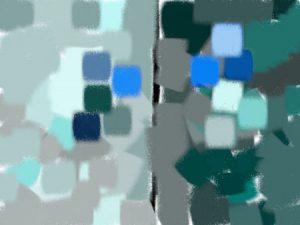 Bleu cyan - Violet bleuté