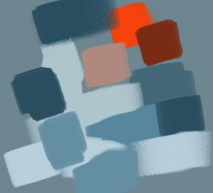 contraste orange bleu 2