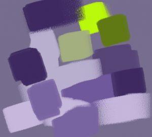 contraste vert violet 2