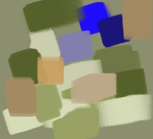 harmonie vert bleu orange