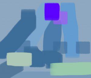 accord bleu violet