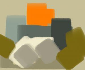accord orange vert